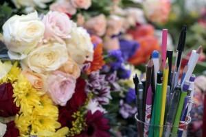 fiori e matite